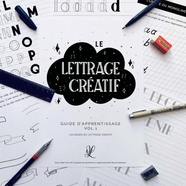 guide lettrage créatif