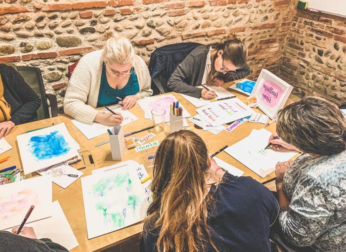 atelier de calligraphie moderne toulouse